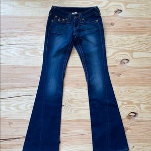 EUC barely worn true religion jeans size 24